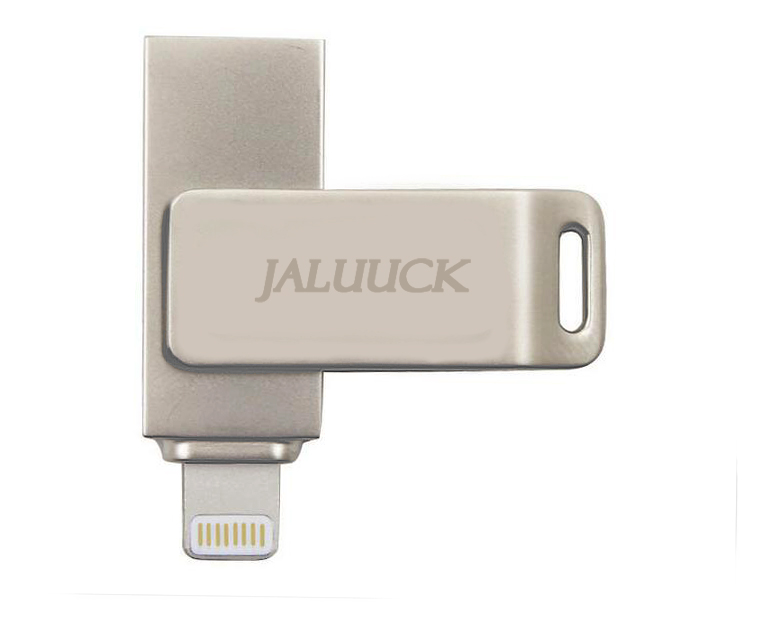 New 32GB for iPhone Swivel USB Memory Stick U DISK for iPhone 7,7plus, 6/6s,5/5s,iPad, iPod