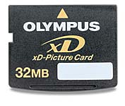 Olympus 32mb xD Picture Card