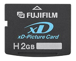 Fuji 2GB xD Picture Card Type H