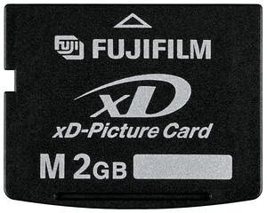 Fuji 2 GB xD Picture Card Type M