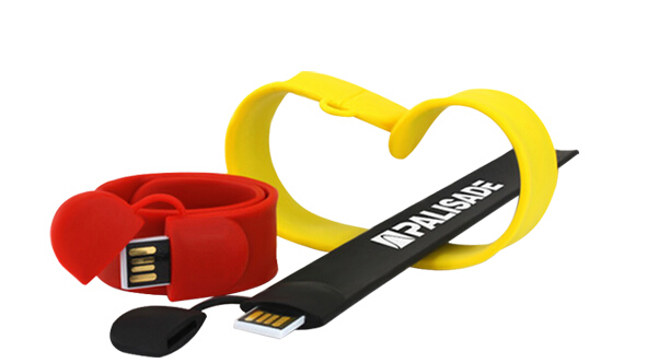 Hot selling cheap USB Flash Drive Bracelet 1gb 2gb 4gb 8gb memory stick