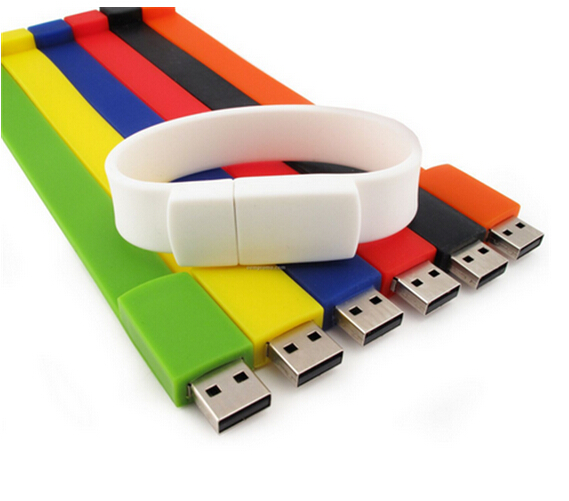 Promotional wristband usb flash drive for 2.0 drive,USB flash drive silicone wristbands,Cheap usb