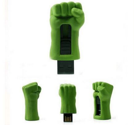 Avengers Green Fist USB Pen Drive 32 gb