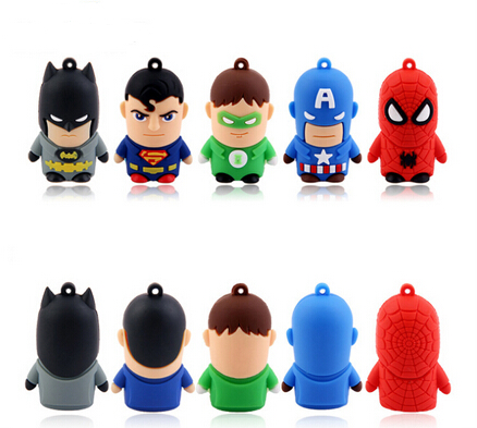 Children Gift 2016 USB 2.03.0 1GB 2GB 4GB 8GB Soft PVC Cartoon USB Flash Disk