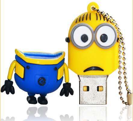 Animal Style 8gb Minions Pendrive USB