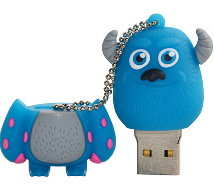 Blue Monsters University USB Flash Drive 8GB 16GB 64GB Wholesale