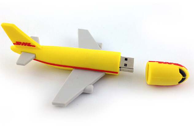 Custom Gift Promotional Airplane Shaped USB Flash Drive
