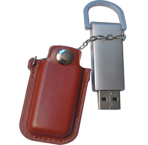 Top-grade Fashion Leather USB Memory Stick 1g 8 gb